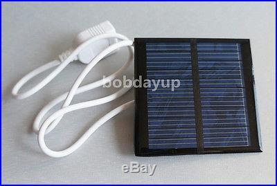 0.6W 5.5V USB Mini Solar Panel Module Solar System Charger DIY B007
