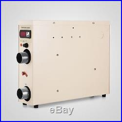 11KW 220V Electric Swimming Pool Water Heater Thermostat 50A Spa 240V MAX GREAT
