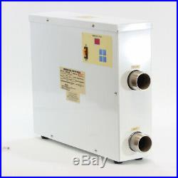 11KW 220V Swimming Pool & SPA hot tub electric water heater thermostat