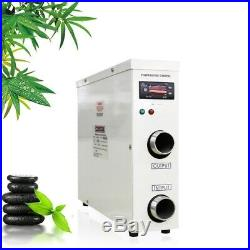 11KW Electric Swimming Pool Water Heater Thermostat Hot Tub Secure Stable 220V
