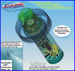 1500% mehr Zirkulation im Wasser poolheizung schwimmbad heizung Absorber Chlor