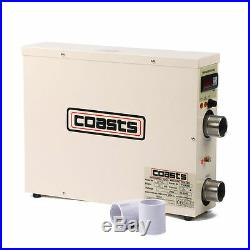 15KW 220V Updated Swimming Pool & SPA Hot Tub Electric Water Heater Thermostat