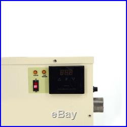 18KW 220V/240V/380V Electric Swimming Pool Thermostat SPA Hot Tub Water Heater