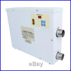 1PC 220V 11KW ELECTRIC Water Heater Swimming Pool SPA Hot Tub Thermostat