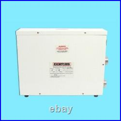 220V Electric Swimming Pool Water Heater Thermostat Hot Tub Secure Stable 11KW