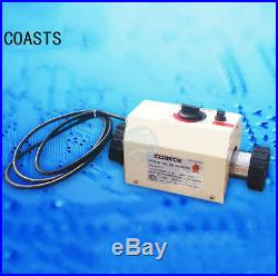 220V Swimming Pool Bath SPA Heater Electric Heating Thermostat Water Heater 3KW