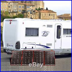 220W 18 V Flexible Foldong Solar Panel +Controller Super Light Kit Camping Mono