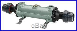 240,000 BTU Titanium Salt Water Pool Heat Exchanger Outdoor Wood Furnace Boiler