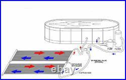 28 x 20' Solar Energy Swimming Pool spas Sun Heater Panel Inground Above Ground
