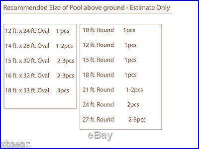 28x20' Solar Energy Swimming Pool Sun Heater Panel for Inground Above Ground