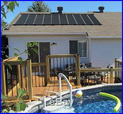 2-2'X12' SunQuest Solar Swimming Pool Heater with Couplers-Max-Flow