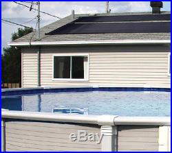 2-2'X20' SunQuest Solar Pool Heater with Diverter & Deluxe Roof/Rack Mounting Kit