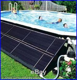 2-2x20 SOLAR PANEL POOL HEAT COVER 40K BTU Above Ground