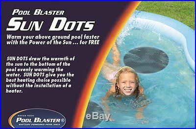 2 Pool Blaster Sun Dot Above Ground Round Swimming Pool Easy Solar Heater Cover