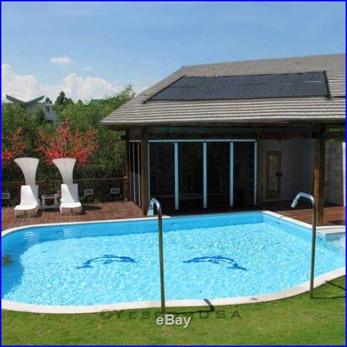 2'x 10' Above Ground In-ground Solar Panel Heating Water For Swimming Pools Roof