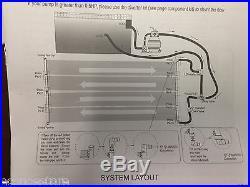 2x Energy Saving Above Ground Inground Swimming Pool Solar Heating Panel Heater