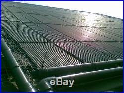 33cmx500cmEPDM Poolheizung Solarmatte Heizung Schwimmbadheizung Solar absorber