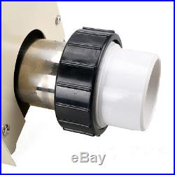 3KW 220V Swimming Pool & Bath SPA Hot Tub Electric Water Heater Thermostat Top
