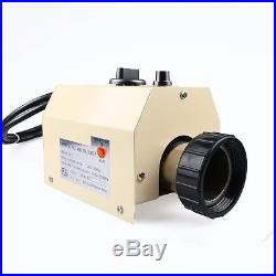 3KW 220V Swimming Pool & SPA Hot Tub Electric Water Heater Heating Thermostat