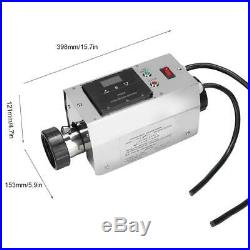 3KW 220/240V Swimming Pool&Bath SPA Intelligent Electric Water Heater Thermostat