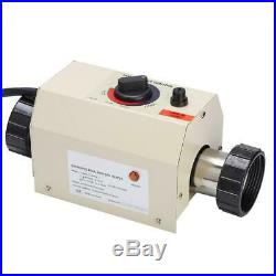3KW Schwimmbadheizung Poolheizung Schwimmbad Heizung Thermostat Bath SPA Bad