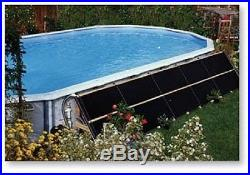 3-2x20' Swimming Pool Solar Panels Heater & Diverter 2015