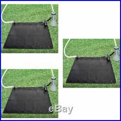 3 Intex Solar Mat Above Ground Swimming Pool Water Heater Black 28685E