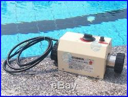 3 KW Water Heater for Swimming Pool & bath B