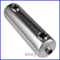 400 kBtu Pool Heat Exchanger 304 Stainless Steel Same Side Ports 1 1+ 2FPT USA