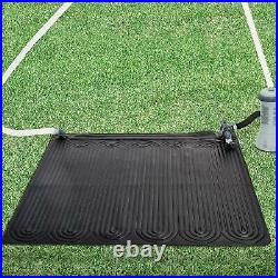 47 x 47 Solar Water Heater Mat Above-Ground Pool Warmer Swimming Heating Pad