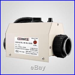 48mm Poolheizung Wärmetauscher Poolheizer Thermostat Elektrisch 30-40 Good