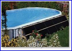 4'x10' Swimming Pool Solar Heat ADD-ON PANEL & COUPLERS