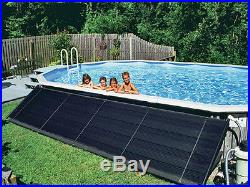4'x20' Swimming Pool Solar Heating Panel Kit For 27' Round Above Ground Pools