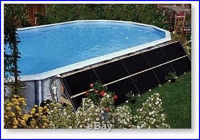 4'x20' Swimming Pool Solar Panel Heater & Diverter Kit