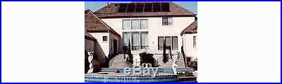 4x10 Sungrabber Solar Heater Panel w/ Valve & Roof Kits