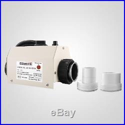 50mm 3kw Poolheizung Wärmetauscher Schwimmbadheizung Wärmepumpe 220V Sicher