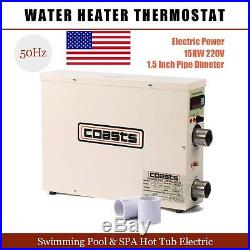 515KW 220V Swimming Pool & SPA Hot Tub Electric Water Heater Thermostat