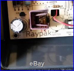 601720 Raypak pool heater contol board with bezel