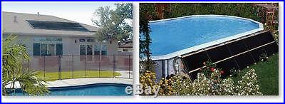 6 2'x20' Swimming Pool Solar Heater Sys. W/ Roof Kits