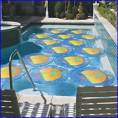 6 Pack Solar Sun Rings For Aboveground Inground Swimming Pool SSR-1