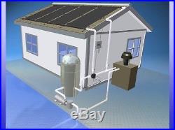 8 4' x 10' Inground Pool Solar Panel Heater System
