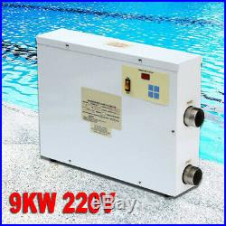 9KW 220V Elektro Pool Heizung Schwimmbadheizung Wärmetauscher Wasserheizung SPA