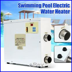 9KW 220V Swimming Pool & SPA Tub Water Heater Bath Thermostat Electric 44A CA