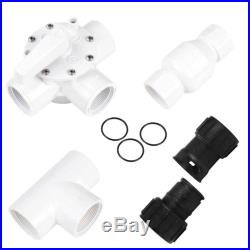 Accessories Kit For Swimming Solar Panel Heating Water Pipe Connector Combiner