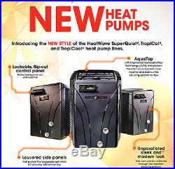 AquaCal SQ166R Heat Pump Pool & Spa Heater (Heat & Cool) NEW STYLE
