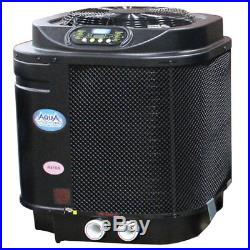 AquaPro PRO1100E 112K BTU Digital Heat Pump For Aboveground Inground Pool