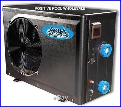 Aqua Pro Eco500 50K BTU Aboveground Swimming Pool Heater Heat Pump