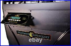 Aquacal Heatwave SuperQuiet Icebreaker Heat-Cool Swimming Pool Heat Pump SQ120