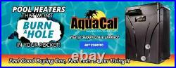 Aquacal Sq166r The Fastest & Quitest Swimming Pool & Spa Heat Pump Heat