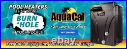 Aquacal T55 The Fastest & Quitest Swimming Pool & Spa Heat Pump Heat